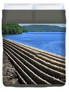 New Croton Dam At Croton On Hudson New York Duvet Cover