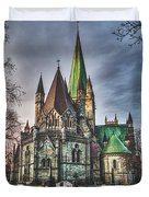 Nidaros Cathedral Duvet Cover