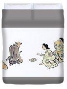 Oil Painting Duvet Cover