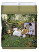 Open Air Breakfast Duvet Cover