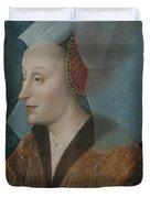 Portrait Of A Noblewoman Duvet Cover