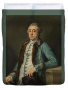 Portrait Of John Scott Of Banks Fee  Duvet Cover