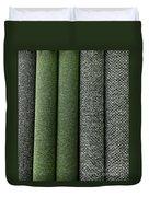 Rolls Of New Carpet Duvet Cover