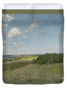 Sunlight And Shadow, Shinnecock Hills Duvet Cover