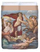 Triumph Of Galatea, Detail Duvet Cover