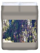 2014 Valentine Mountain Trip Duvet Cover
