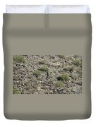 2016 Husband And Wife Saguaro Duvet Cover