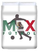 2018 Soccer Cup Mexico Flag Mex Championship Iso Duvet Cover