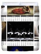 2019 High Resolution R Young Art Dance Calendar - Available Artw Duvet Cover