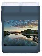 The Bass River Duvet Cover