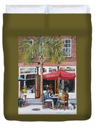 2nd Sunday Lunch On King St. Duvet Cover