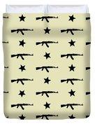 Ak-47 Pattern Duvet Cover