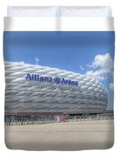 Allianz Arena Munich  Duvet Cover