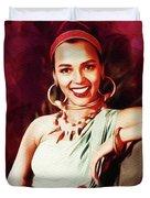 Dorothy Dandridge, Hollywood Legend Duvet Cover