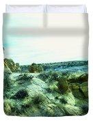 High Desert Landscape Duvet Cover