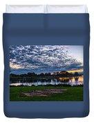 Obear Park Sunset Duvet Cover
