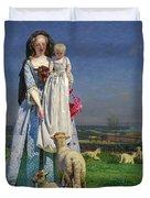 Pretty Baa-lambs Duvet Cover