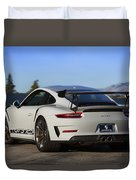 #porsche 911 #gt3rs #print Duvet Cover by ItzKirb Photography