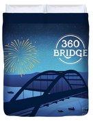360 Bridge Duvet Cover