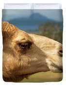 Camel Out Amongst Nature Duvet Cover