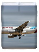 Eurowings Airbus A319-112 Duvet Cover