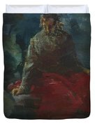 Oil Painting Duvet Cover