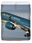 Vietnam Airlines Airbus A350 Duvet Cover