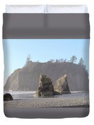 Ruby Beach Sunshine Duvet Cover