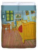 Bedroom In Arles Duvet Cover