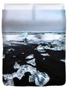 Diamond Beach Duvet Cover