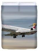 Iberia Regional Bombardier Crj-1000 Duvet Cover