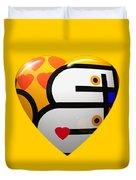 Love Heart Duvet Cover