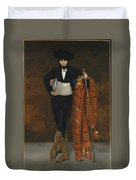 Young Man In The Costume Of A Majo  Duvet Cover
