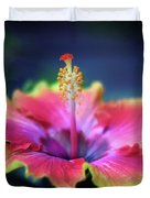 Hibiscus Delight Duvet Cover
