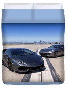 #lamborghini #huracan #print Duvet Cover by ItzKirb Photography