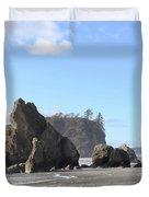 Ruby Beach Sunshine Duvet Cover