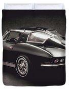63 Chevrolet Corvette Stingray Duvet Cover