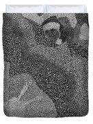 Detail From Sgt. Pepper's Mug Head Duvet Cover