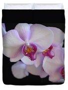 7195-orchids Duvet Cover