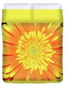 7289-yelow Gerber Duvet Cover