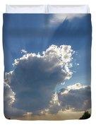 Prairie Storm Clouds Duvet Cover