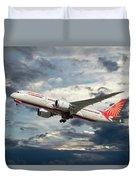 Air India Boeing 787-8 Dreamliner Duvet Cover