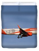 Easyjet Neo Livery Airbus A320-251n Duvet Cover