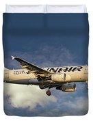 Finnair Airbus A319-112 Duvet Cover