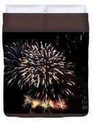 Firework Display Duvet Cover