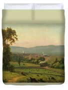 The Lackawanna Valley Duvet Cover