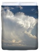 Prairie Storm Clouds Duvet Cover