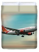 Air India Cargo Airbus A310-304 Duvet Cover