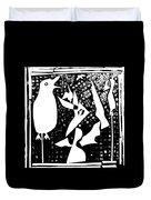 A Bird Hunting Birds 4 Duvet Cover