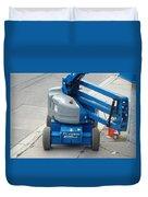 A Boom Lift Genie Z45 Machine Duvet Cover